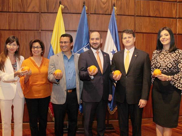Honduras se viste de naranja